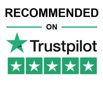 Recommended on Trustpilot